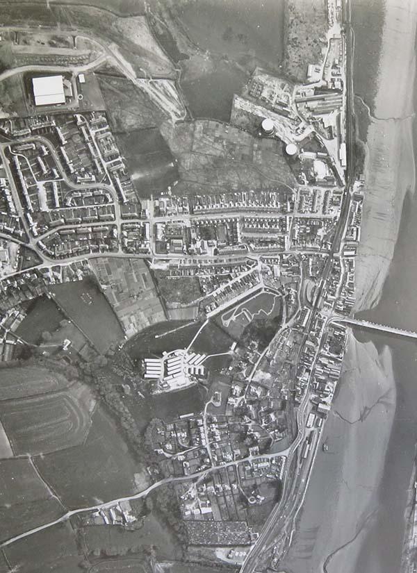 1 07 Aerial Photos By Hunting Surveys Ltd London Black And White April 14th 1968 No 5000